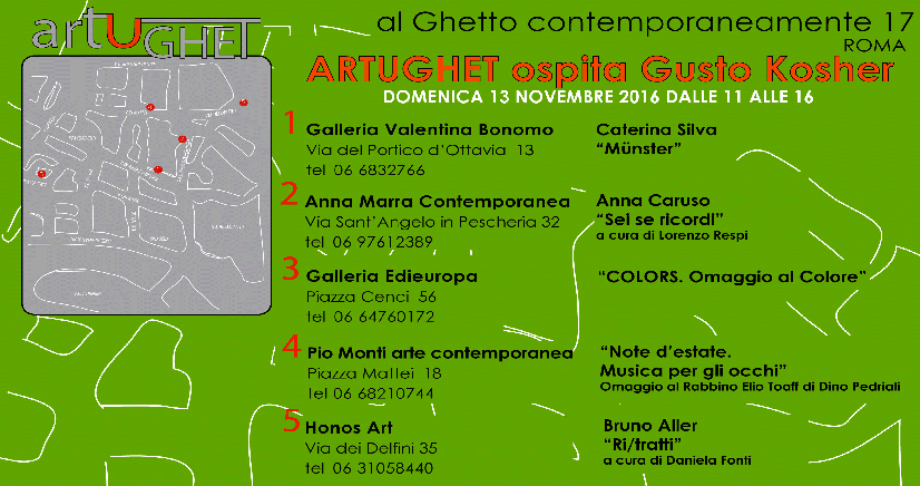 Al Ghetto Contemporaneamente 17: Gusto KOSHER