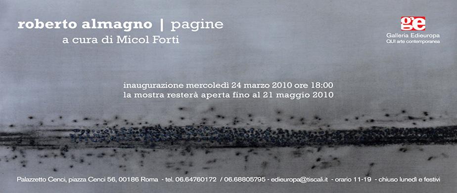 Pagine - Roberto Almagno