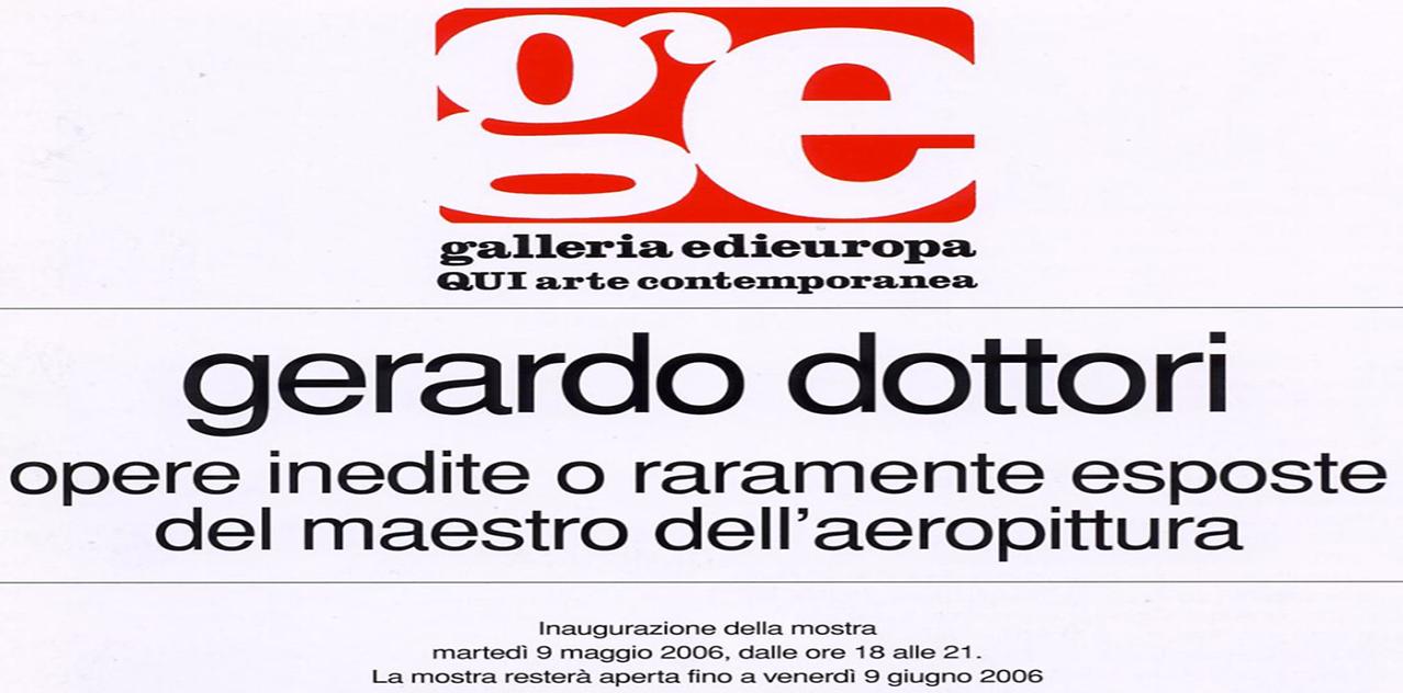Gerardo Dottori opere inedite o raramente esposte dal maestro dell'aereopittura