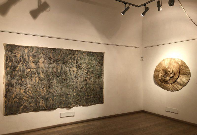 Inaugurazione della mostra pwersonale di Giuseppe Capitano. Earth's Heart