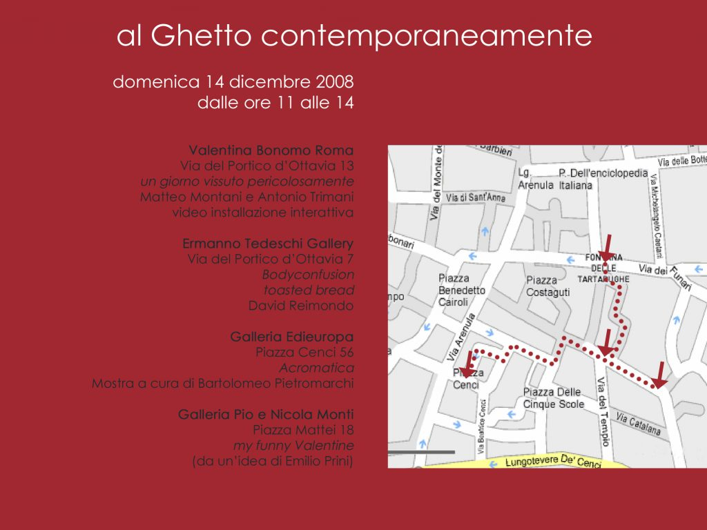 invito al ghetto contemporaneamente 1