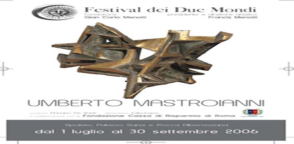 Umberto Mastroianni, Festival di Spoleto