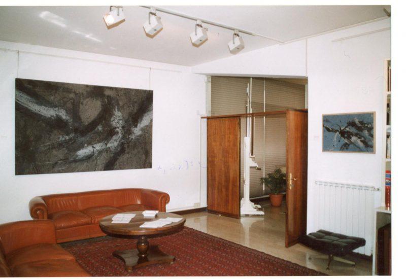 mostra L'ultimo Scialoja, 1982 – 1998