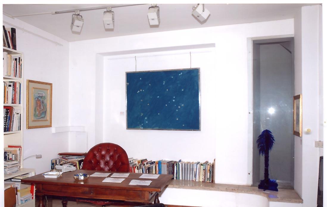 VEDO BLU, il blu nell'arte contemporanea