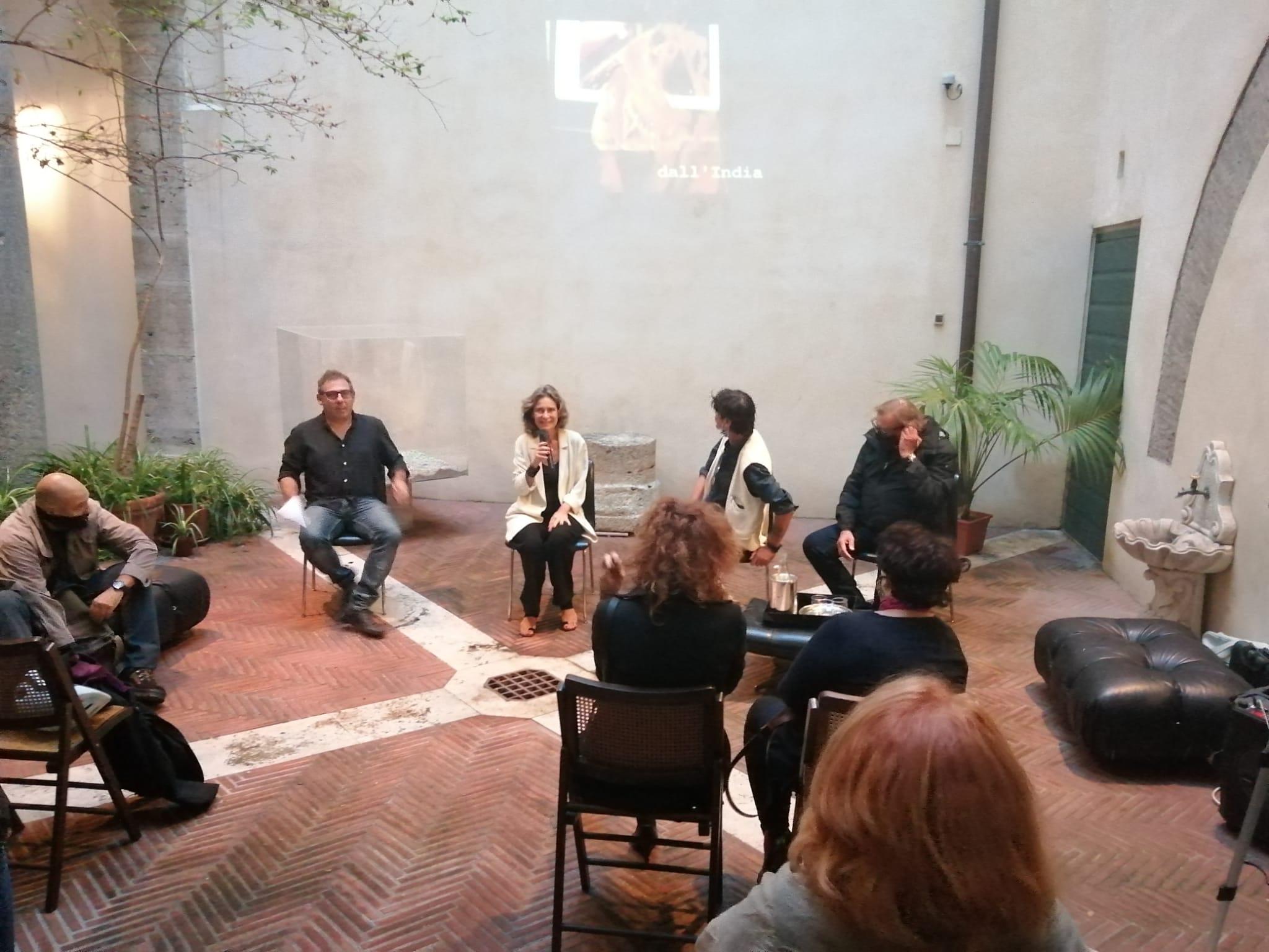 foto - incontro con Emilio Leofreddi