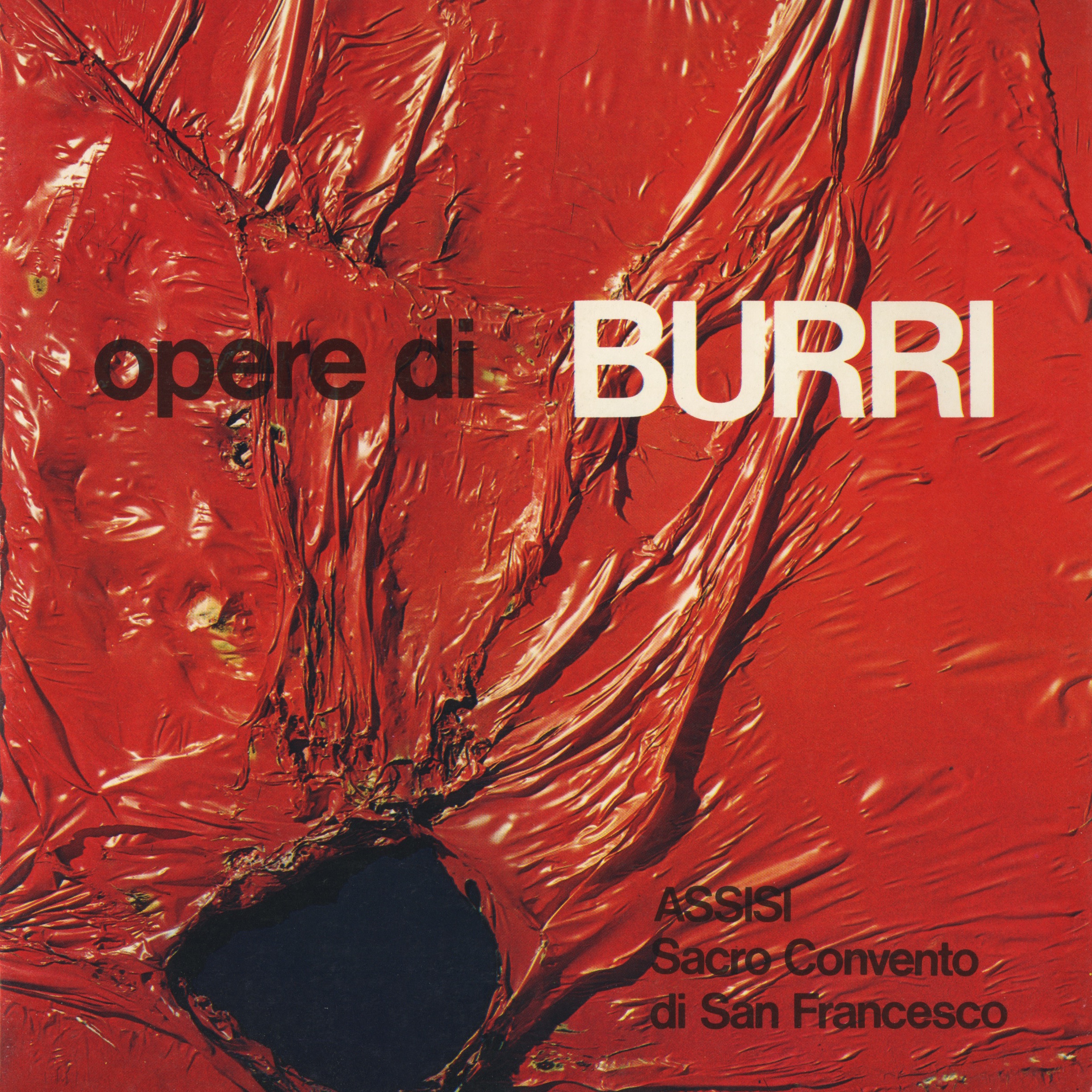 Mostra_Opere_di_Burri_Sacro_Convento_S._Francesco_Assisi_1975