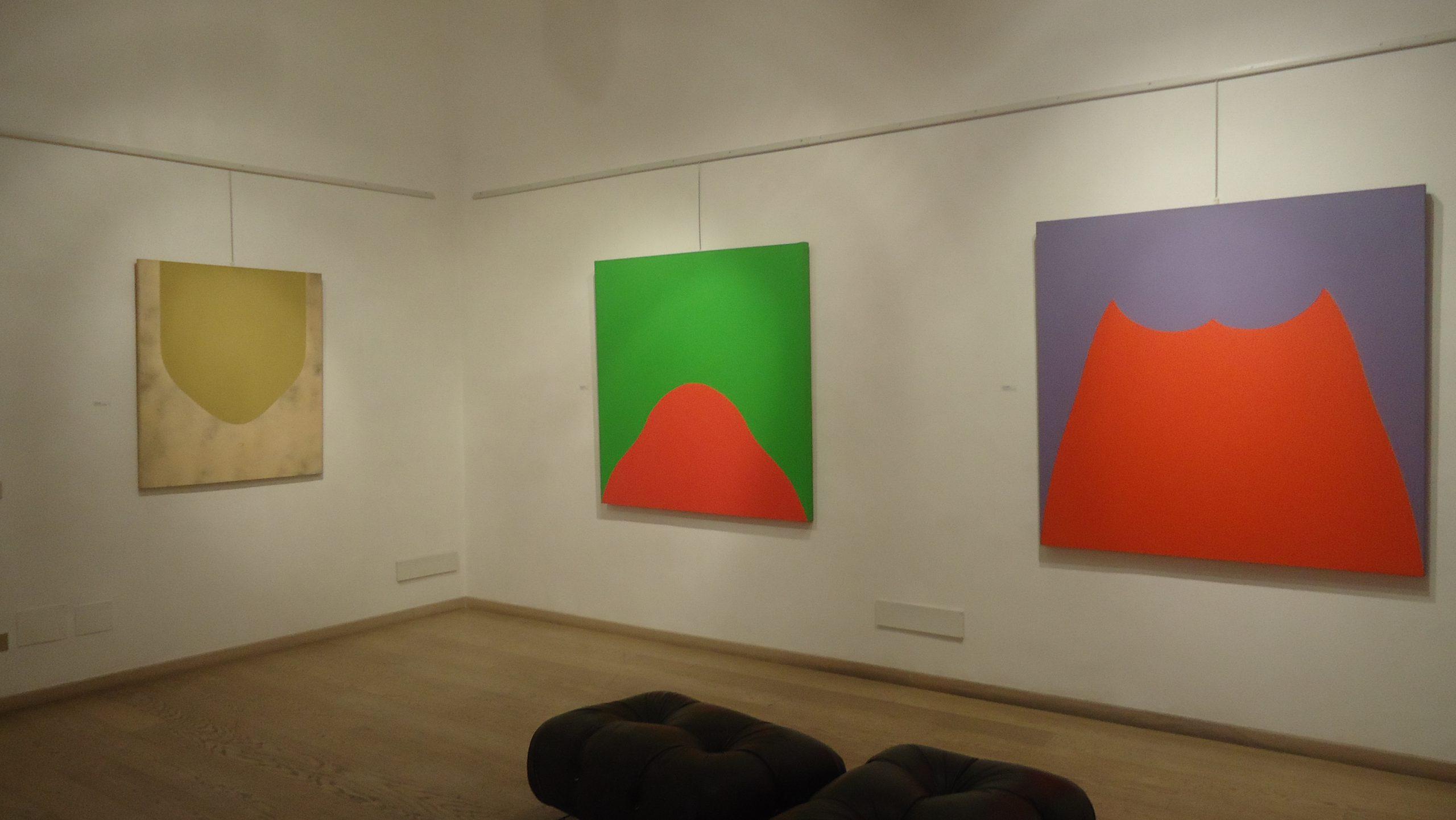 Immagini del colore. Marcia Hafif in primo piano